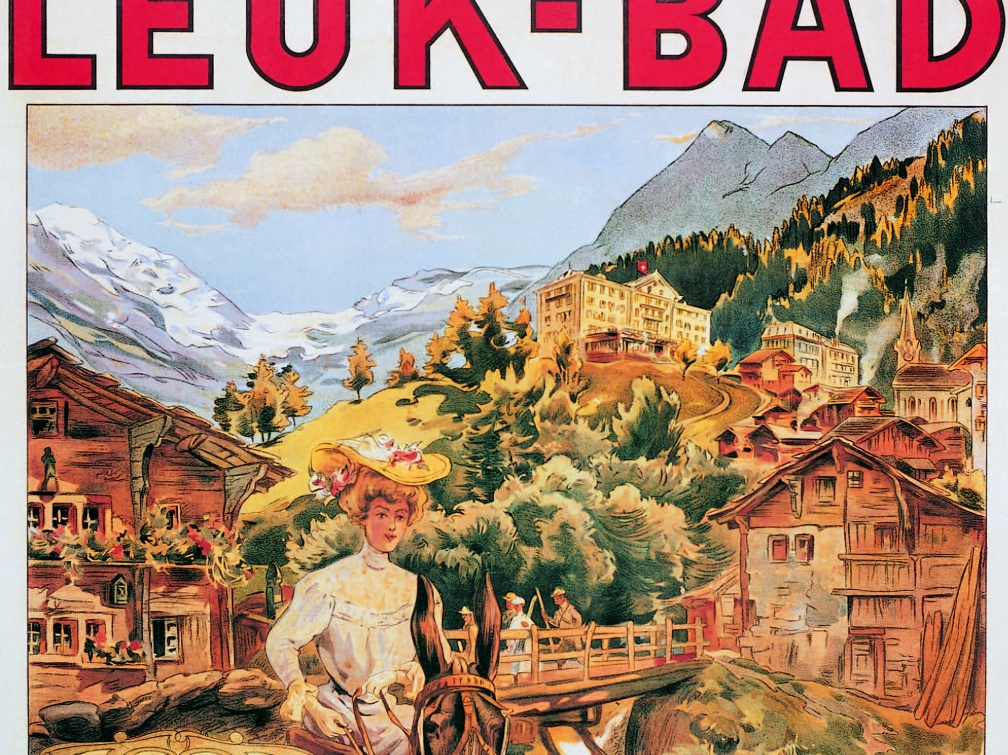 Leukerbad Poster