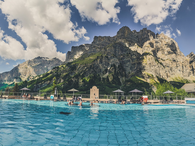 Alpentherme Sommer Panorama